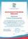"""Благодарственное письмо партии """"Единая Россия"""" """"За активное участие в избирательной компании"""""""